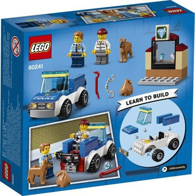 60241 LEGO 4+ City Politie Hondenpatrouille