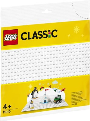 11010 LEGO Classic Witte Bouwplaat
