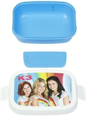 94828 K3 Lunchbox - Blauw