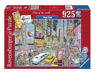 164318  Ravensburger Puzzel Fleroux New York 925 stukjes