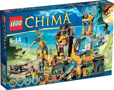 70010  LEGO Chima De Leeuwen Chi Tempel