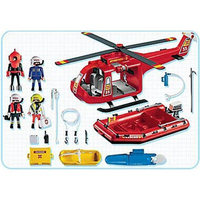 4428 Playmobil Action 4428 speelgoedset