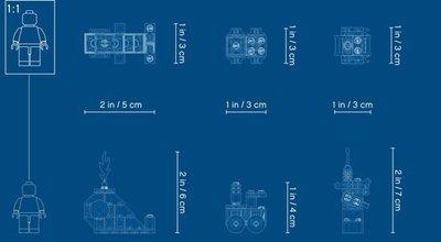 11006 LEGO Classic Creatieve Blauwe Stenen