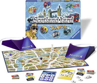 222896 Ravensburger Spel Scotland Yard Junior