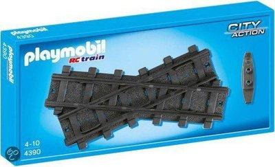 4390 PLAYMOBIL City Action Kruising voor trein
