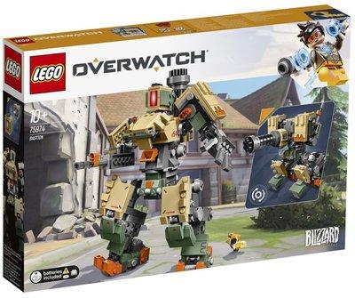 75974 LEGO Overwatch Bastion