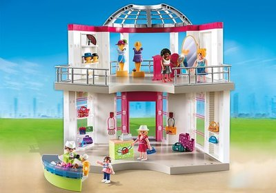 5499 Playmobil City Life Winkelcentrum Modeboetiek