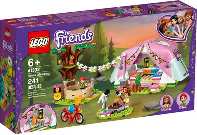 41392 LEGO Friends Glamping in de Natuur