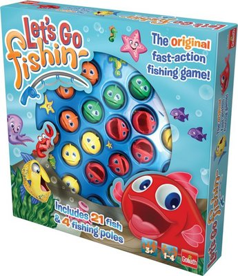 30816 Let's Go Fishing Original Hengelspel Kinderspel Goliath