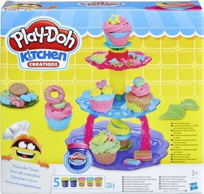 5144 Play-Doh Cupcake Toren Klei Speelset