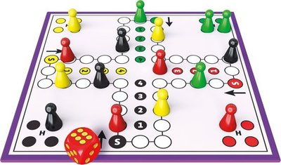881795 Ludo small Bordspel