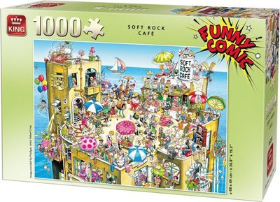 05226 Funny Comic Puzzel 1000 Stukjes SOFT ROCK CAFE