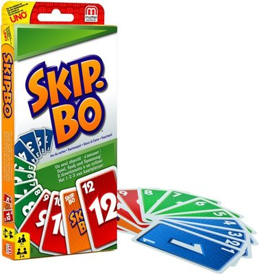 52370 Mattel Skip-Bo Kaartspel