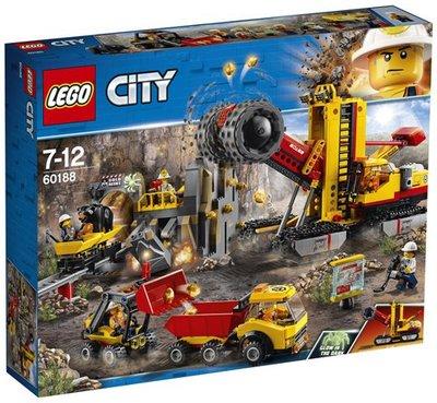60188 LEGO City Mijnbouwexpertlocatie