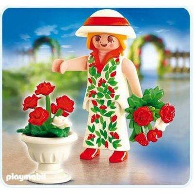 4673 Playmobil Vrouw met Rozen