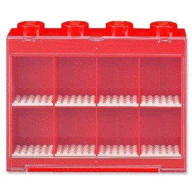 75078 LEGO Opbergbox minifiguren rood 8-delig