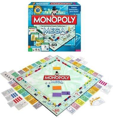 42945 Hasbro Monopoly Mega - Bordspel