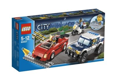 60007 LEGO® City Snelle Achtervolging
