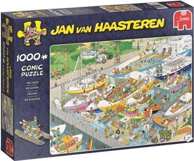 19067 Jumbo Puzzel Jan van Haasteren De Sluizen 1000 Stukjes