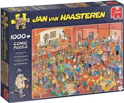 19072 Jumbo Puzzel Jan van Haasteren De Goochelbeurs 1000 Stukjes