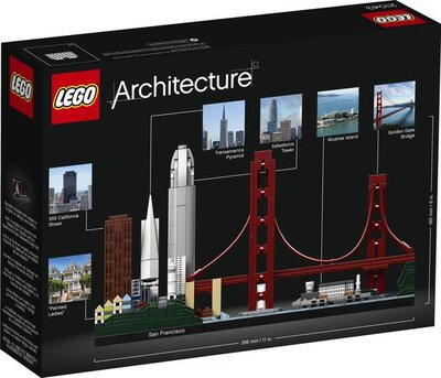 21043 LEGO Architecture San Francisco