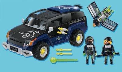 4878 PLAYMOBIL Top Agents Politie celwagen met licht en geluid