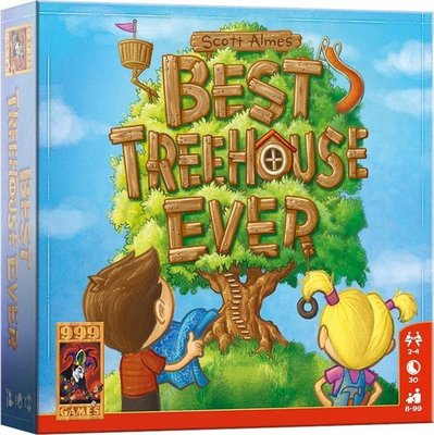 999Games Best Treehouse ever Kaartspel