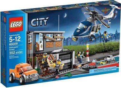 60009 LEGO City Helikopter Boevenjacht