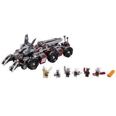 70009 LEGO Chima Worriz' Strijdperk