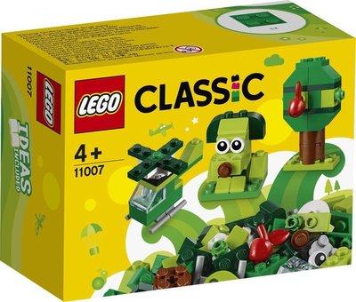 11007 LEGO Classic Creatieve Groene Stenen