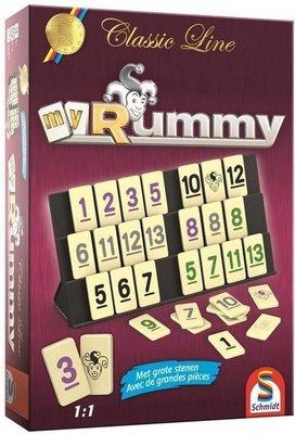 88149 Classic Line My Rummy - Bordspel
