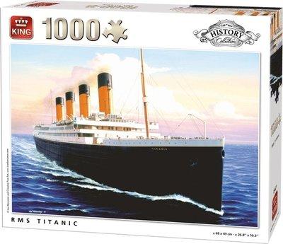 05621 King Puzzel Titanic 1000 Stukjes