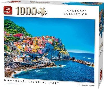 55856 King Puzzel Manarola, Liguria, Italy 1000 Stukjes