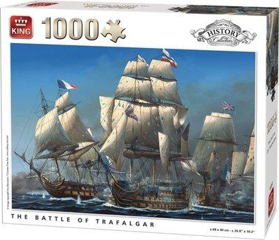 05397 King Puzzel Battle Trafalgar 1000 Stukjes