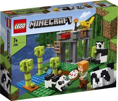 21158 LEGO Minecraft Het Pandaverblijf