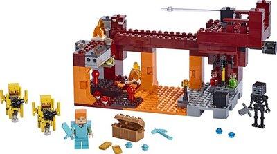 21154 LEGO Minecraft De Blaze Brug