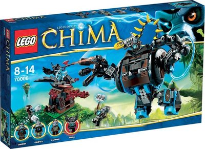70008 LEGO Chima Gorzans Gorilla Striker