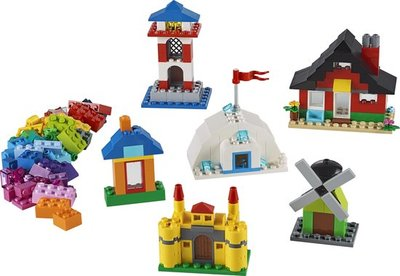 11008 LEGO Classic Stenen en Huizen