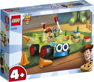 10766 LEGO 4+ Toy Story 4 Woody & RC
