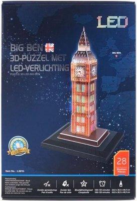 18747 Big Ben 3D Puzzel met Ledverlichting