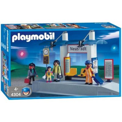 4304 Playmobil Treinstation
