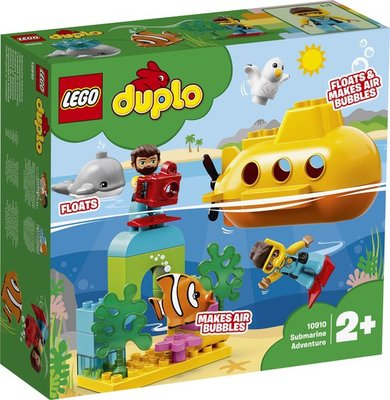 10910 LEGO DUPLO Avontuur met Onderzeeër