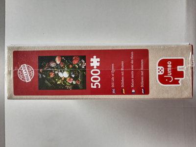 81762 Jumbo Puzzel Stil Leven van Bloemen 500 Stukjes