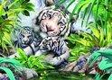 05486 King Puzzel Siberian Tiger 1000 stukjes