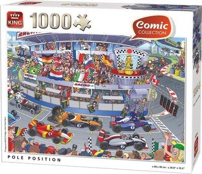05548 King Puzzel Formule 1 1000 Stukjes
