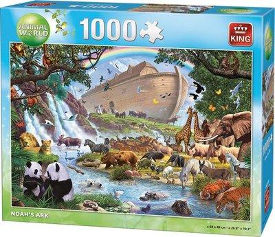 05330 King Puzzel Ark van Noach 1000 Stukjes