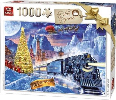 55872 King Puzzel Polar Express 1000 Stukjes