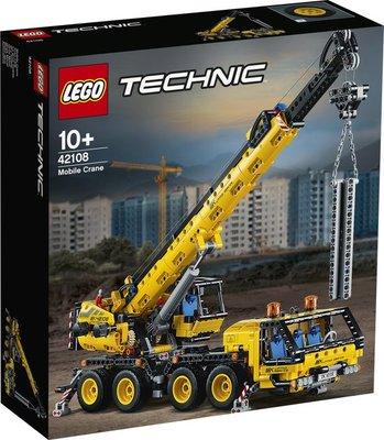 42108 LEGO Technic Mobiele Kraan