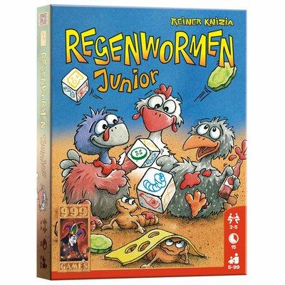 999Games Regenwormen Junior Dobbelspel