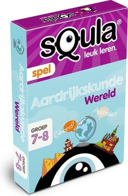 04283 Squla Aardrijkskunde Kaartspel Groep 7-8